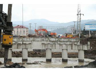 Akçaova Köprüsü Nisan Ayında Açılıyor