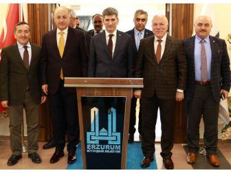İçişleri Bakanlığı Müsteşarı İnce Başkan Sekmen'i Ziyaret Etti