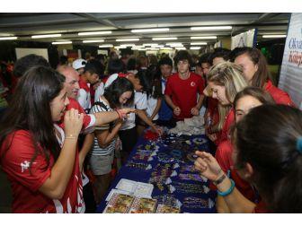 Okul Sporları Federasyonu Türkiye'yi Brezilya'da Tanıttı