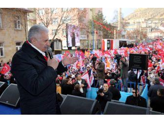 Başbakan Yıldırım, Bayburt'ta