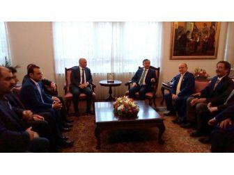 Tüsekon'dan Milletvekili Ilıcalı'ya Teşekkür Ziyareti