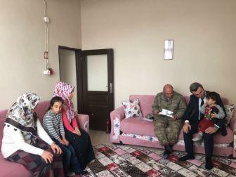 Hani Belediye Başkan Vekili Yazıcı Şehit Ailelerini Ziyaret Etti