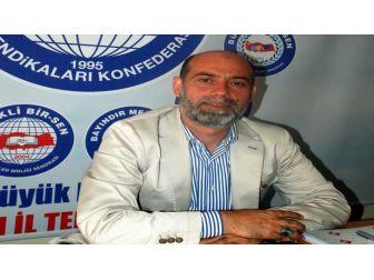 """Aydın Eğitim-bir-sen Başkanı Aksoy; """"Bu Milletin Tarihinde Hep Zafer Var"""""""