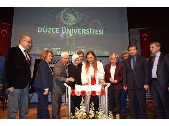 Düzce Üniversitesi 11. Kuruluş Yıldönümünü Gururla Kutladı