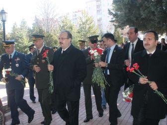 Konya'da Şehitler Anıldı