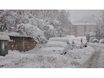 Doğu Anadolu'da Kar Ve Tipi Yolları Kapattı