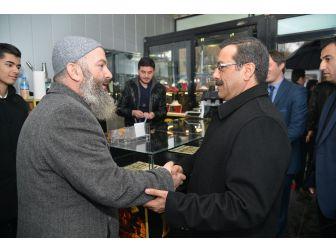 Başkan Atilla Silvan'da Ziyaretlerde Bulundu
