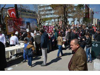 Uşaklı Aşçılar Çanakkale Şehitlerini Unutmadı