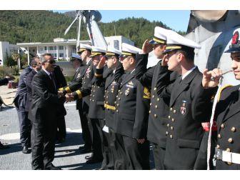 Askeri Gemiler Çanakkale Zaferi İçin Seyre Çıktı