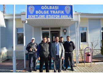 Müdür Yardımcısı Patat Bölge Trafik Amirliğini Ziyaret