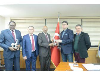 Denizlili Sanayici Ve İşadamları Sudan'la İşbirliğini Artırıyor