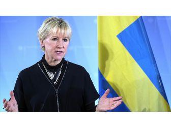 İsveç Dışişleri Bakanı Wallström: Rusya'nın Ukrayna'nın Toprak Bütünlüğünü İhlal Etmesini Kınıyoruz