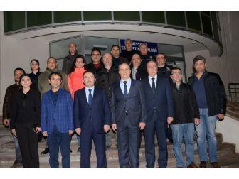 Emniyet Genel Müdürü Altınok, Nevşehir Emniyet Müdürlüğünü Ziyaret Etti.
