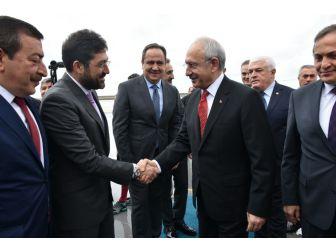 Kılıçdaroğlu'nun Ordu Ziyaretine, Başkan Hazinedar Da Eşlik Etti