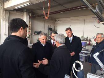 Milletvekili Boynukara Sanayi Esnafıyla Bir Araya Geldi