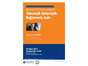 Çarşamba Konferanslarının Konuğu Prof. Dr. Ali Sürmen Olacak