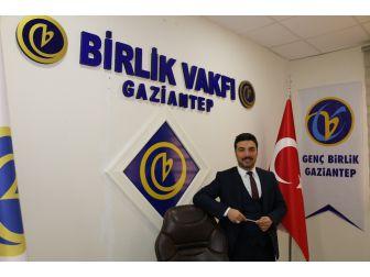Birlik Vakfı Gaziantep Şubesi Başkanı Mehmet Fatih Aslan Yaşlılar Haftasını Kutladı