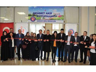 """""""Mehmet Akif İnan Kütüphanesi"""" Öğrencilerle Buluştu"""