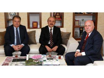 Ervak Başkanı Güzel'den Başkan Sekmen'e Kültür Teşekkürü