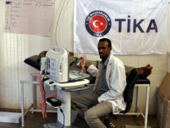 Tika'dan Etiyopya'ya Sağlık Desteği