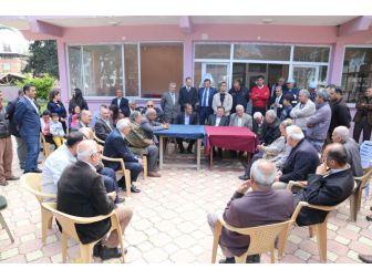 Başkan Savaş, Ziraat Odası Başkanlarıyla Buluştu