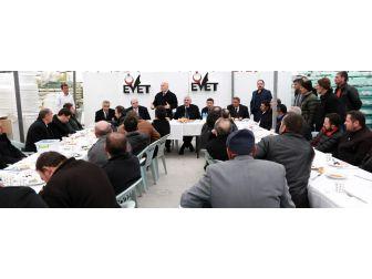 Başkan Sekmen Metal Sanayi Sitesi Esnafına Yeni Sistemi Anlattı