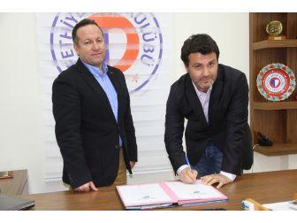 Fethiyespor Fatih Kavlak İle Sözleşme İmzaladı