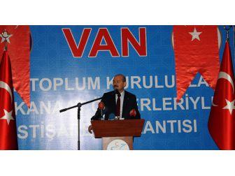 İçişleri Bakanı Soylu Van'da