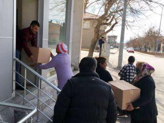 Şereflikoçhisar Belediyesinden Bin 300 Aileye Gıda Yardımı