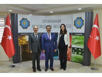 Türkiye Belediyeler Birliğinden Başkan Atilla'ya Ziyaret