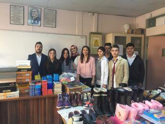 Çaycuma'dan Gürpınar'daki İlkokula Büyük Destek
