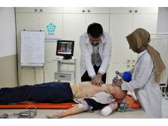 Neü'de Tıp Ve Sağlık Öğrencilerine Uygulamalı Eğitim