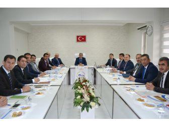 Mardin'de İlçe Milli Eğitim Müdürleri Toplantısı Yapıldı