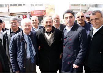 Kiraz, Kuluncak İlçe Başkanlığını Ziyaret Etti