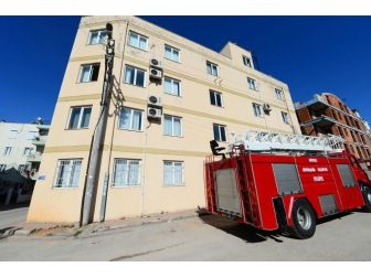 Antalya'da Kapatılan Fetö Yurdunda Yangın