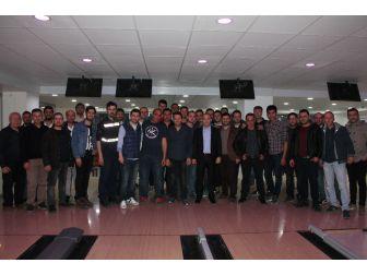 Uedaş'tan Bowling Keyfi