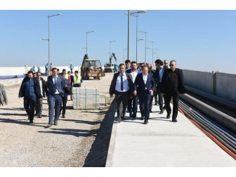 Başkan Uğur Cunda Köprüsünü İnceledi