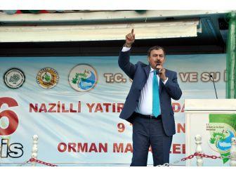 """Bakan Eroğlu; """"Hayır Diyenler Türkiye'nin Şahlanmasını İstemiyor"""""""