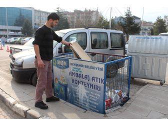 Beyşehir'de Geri Dönüşümle Bir Yılda 23 Bin Ağaç Kurtarıldı