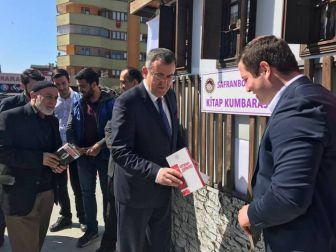 """Safranbolu'da Köy Okulları İçin """"Kitap Kumbarası"""" Projesi"""
