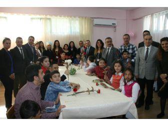 Marmaris'te Down Sendromu Çocuklar Gönüllerince Eğlendi