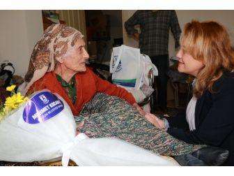 Bodrum Belediyesi Yaşlı Vatandaşlarını Unutmuyor