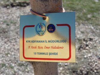 Yurt Öğrencileri 15 Temmuz Şehitlerinin İsimlerini Fidanlarda Yaşatacak