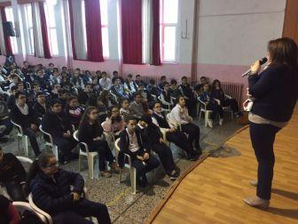 Avukat Çam, Öğrencilere Mesleğini Anlattı