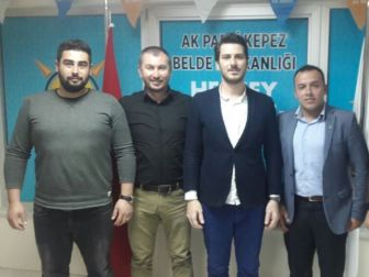 Ak Parti Kepez'de Bayrak Değişimi