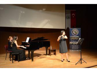 Flüt Ve Piyano Resitali Büyük İlgi Gördü