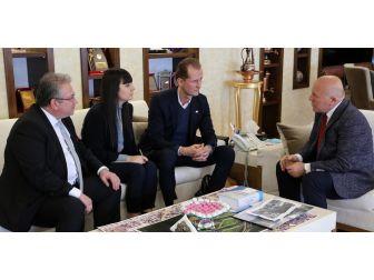 Danimarka İstanbul Başkonsolosu Kamp'tan Başkan Sekmen'e Ziyaret