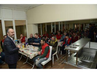 İnegöl'de Referandum Seferberliği