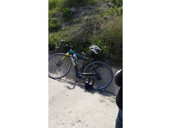 Motosikletin Çarptığı Bisikletli Yaralandı