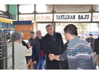 Başkan Sarıalioğlu'ndan Referandum Ziyaretleri